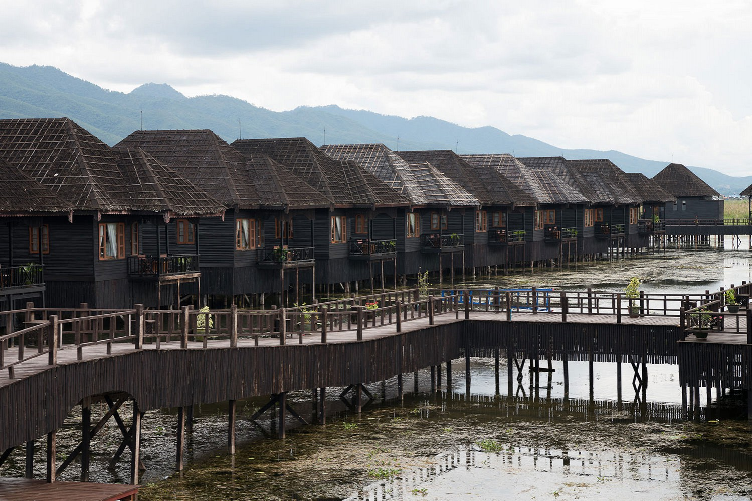 Myanmar treasure resort Inle Lake